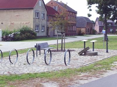 Rastplatz in Sedlitz